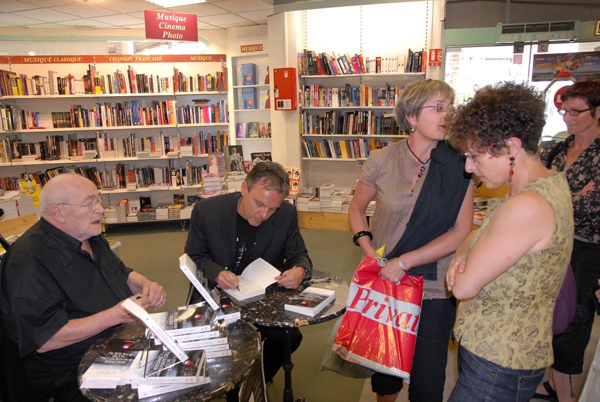Sam and Stéphane Guinoiseau (May 2008)