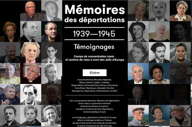 Accueil memoires des deportations