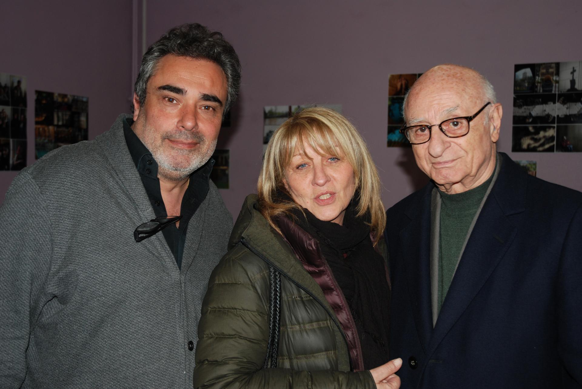 David Braun, Charlie Mangel et son épouse