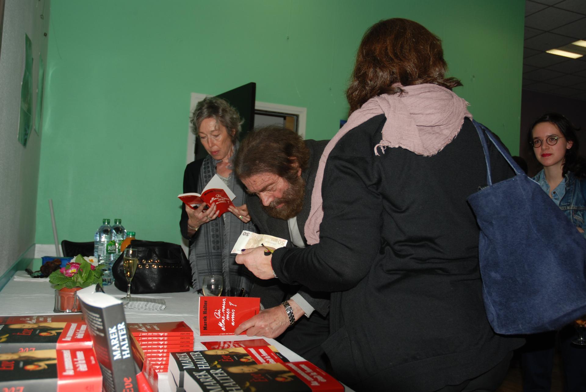 Françoise Braun et Marek Halter
