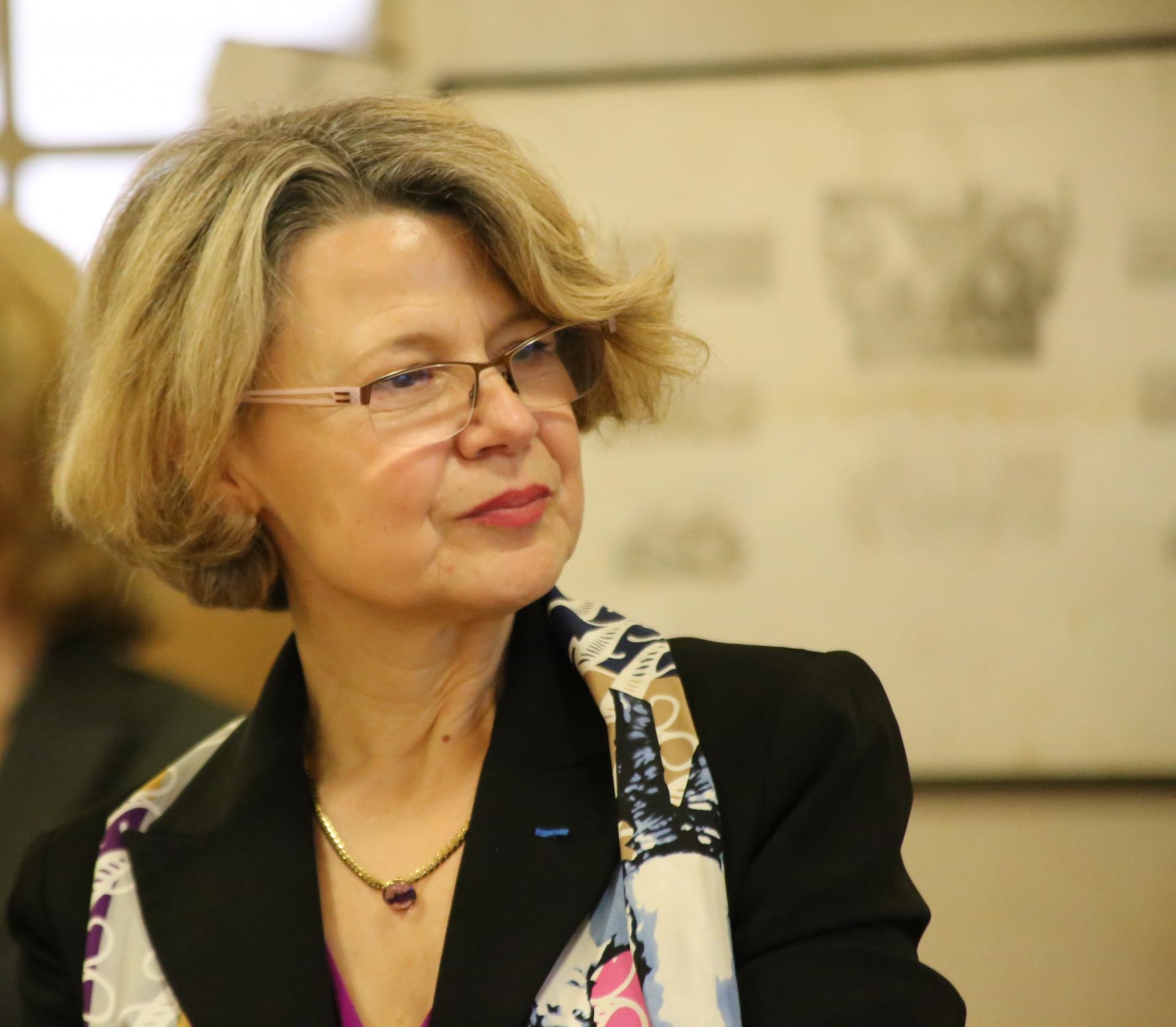 Nathalie Rodallec, professeure d'histoire et de géographie, lycée Lavoisier